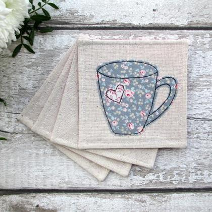 Coaster Set, New Home Gift For A Te..