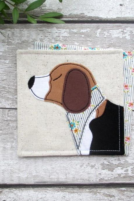 Beagle Coaster, Beagle Owner Gift