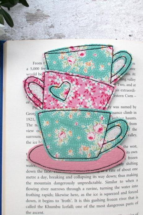 Tea Lovers Bookmark, Reading Gift