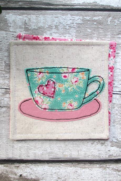 Tea And Coffee Coaster, New Home Gift For Her