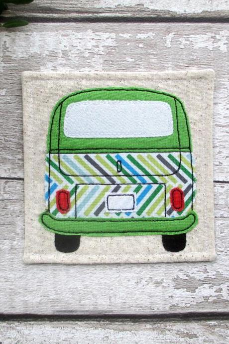 VW Bus Coaster, Gift For Him