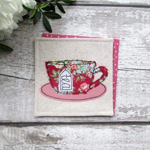 Tea Coaster, Mother's Day Gift For A Tea Lover